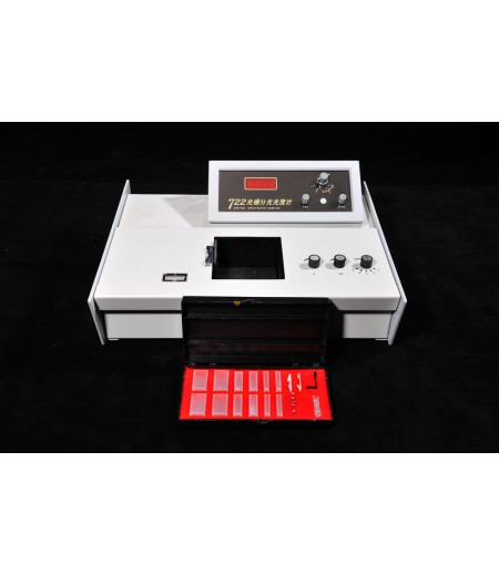 Spectrophotometer เครื่องวัดการดูดกลืนแสง (จีน)