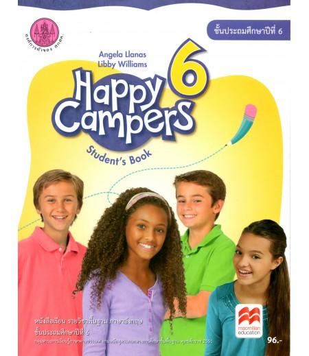 หนังสือเรียน Happy Campers 6 ป.6