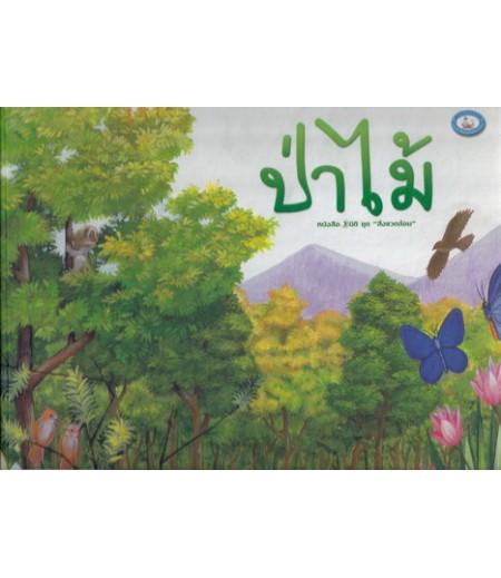 หนังสือ 3 มิติ ชุดสิ่งแวดล้อม ป่าไม้ เล่มใหญ่