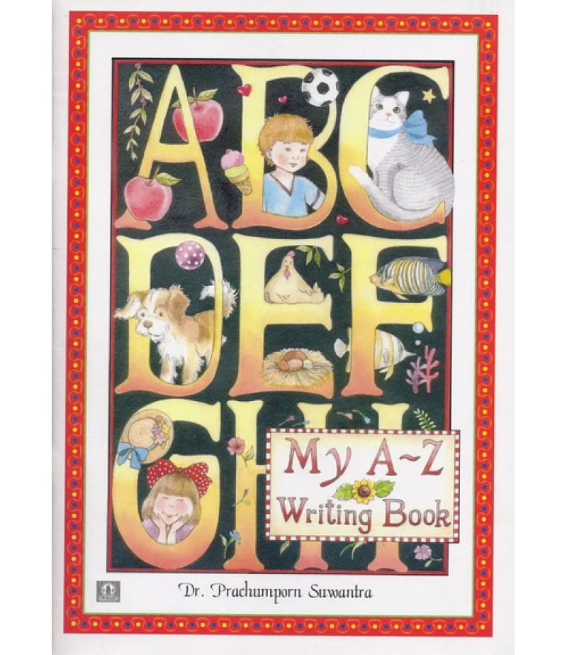 หนังสือ My A-Z Writing Book