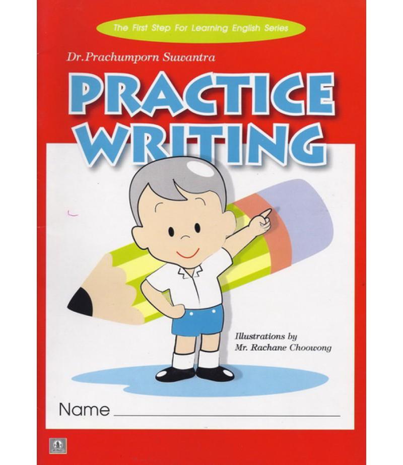 หนังสือ Practice Writing Book
