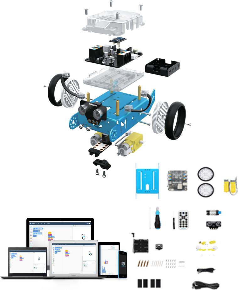 สื่อวัสดุประกอบการสอน Coding พื้นฐาน (M-Robot Education Kit)