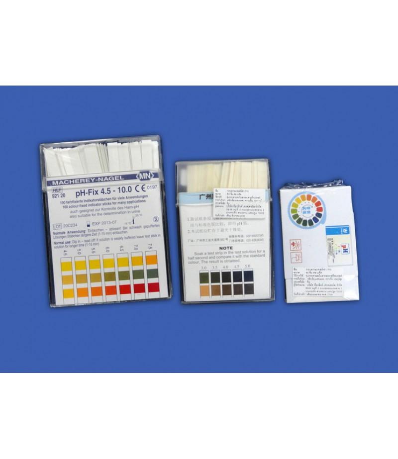 กระดาษวัดค่า pH FIX  0-14