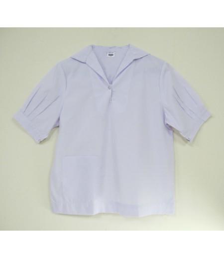 เสื้อนักเรียนมัธยม(ขยายโอกาส)#33 (ปกทหารเรือ) อก 36 นิ้ว ยาว 22 นิ้ว