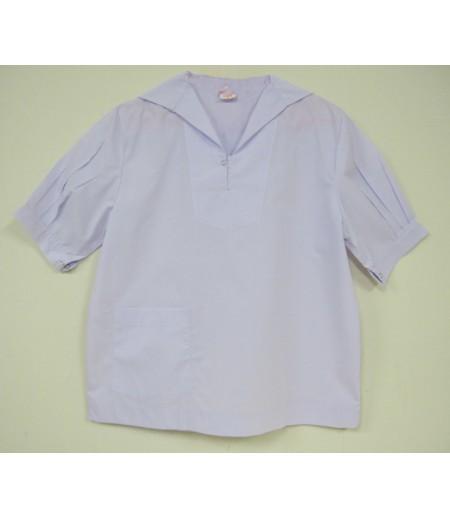 เสื้อนักเรียนมัธยม(ขยายโอกาส)#44 (ปกทหารเรือ) อก 38 นิ้ว ยาว 23 นิ้ว