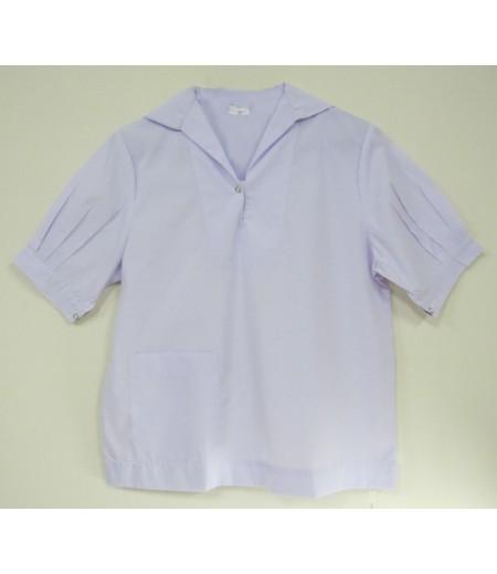 เสื้อนักเรียนมัธยม(ขยายโอกาส)#55 (ปกทหารเรือ) อก 40 นิ้ว ยาว 24 นิ้ว